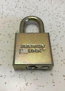 NEW US Military Padlock American Lock Co 5200 Series With 2 Keys US