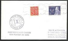 SWEDEN 1967 MS Stena Germanica ship cover..................................58400