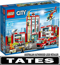 LEGO 60110 FIRE STATION CITY from Tates ToyWorld