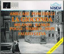 Ponchielli: La Gioconda / Cleva, milanov, Rankin, Warren, Siepi, Met 1957 - CD