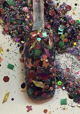 glitter mix acrylic gel nail Art  Crafts  ADVENTURE    Limited Edition