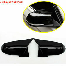 For BMW X1 E84 F20 F22 F30 F32 F35 ABS Black Rearview Mirrors Cover 2012-2019