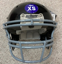 New Schutt Youth Dna Football Helmet and Facemask + Chin Strap - Size Xs - Black