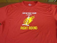 """Spin Me Round """"Right Round"""" Bicycle T Shirt Size XL   M5"""