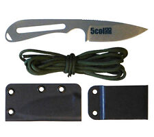 5col S30V Backpacker Knife with Sheath 750 Paracord White River Knife and Tool