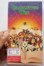 SEALED 1972 Charlotte's Web ANIMATED MOVIE (VHS, 1993) MCDONALD'S PROMO