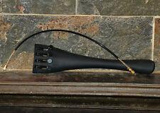 cello carbon fibre fine adjuster tailpiece and gut 4/4 New