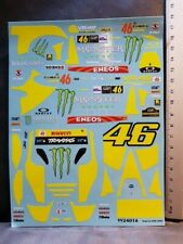 NEW DECALS 1/24 FORD FIESTA WRC - #46 - ROSSI - MONZA 2018 - COLORADO VV24016 UV
