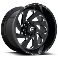 4 Fuel D637 Vortex 20x10 5x55 18mm Blackmilled Wheels Rims 20 Inch Fits More Than One Vehicle