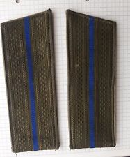 RUSSIAN SOVIET ARMY Millitary uniform shoulder straps junior officer Aviation