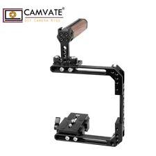 CAMVATE Universal Käfig Cage oben Griff für DSLR Kamera QR Grundplatte Canon eos