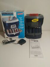 MAGNIF Digital Electric Coin Sorter Coin Motorized Counting Machine Preowned