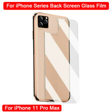 For iPhone 11 Pro Max XR XS 8 7 6 5 Tempered Glass Back Rear Screen Protector-RO