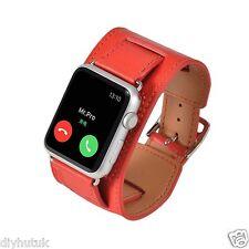 Il SIGNOR PRO Apple Watch Cinturino in Pelle Bracciale Braccialetto Dermico Loop Orologio 42mm (e144)