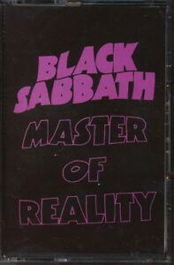 Black Sabbath - Master Of Reality (Holland Import) (Cassette Tape) *STILL SEALED