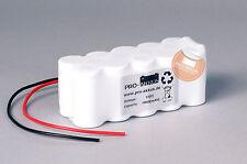 Akkupack 12V 1800mAh (1,8Ah) Notbeleuchtung Einzelbatterieleuchte Notlicht NiCd