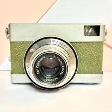 Carl Zeiss Werra 35mm Camera, Olive Green Variant Tessar F/2.8 50mm Lens Lomo