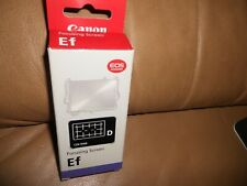 Canon Matte Grid Lines EF-D Interchangeable Focusing Screen CZ6-9566 NEW IN BOX