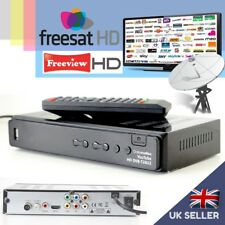Full HD Combo Freeview & Freesat HD Receiver Recorder TV Satellite Set Top Box