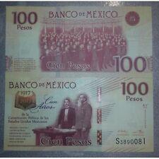 MEXICO 100 PESOS 2016 P-NEW SERIE AY UNC COMMEMORATIVE