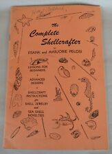 Vintage 1955 Booklet The Complete Shellcrafter by Frank & Marjorie Pelosi