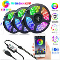 LED STRIP LIGHTS 5050 RGB COLOUR CHANGING TAPE UNDER CABINET KITCHEN   // !