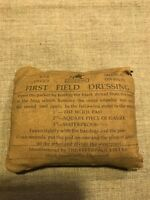 WWI British Amy First Field dressing bandage first aid medical