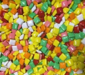 Bulk 5 lb Chicle Tabs Assorted Chewing Gum Chicklets Chiclets Vending Candy