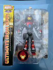 Marvel Select Ultimate Iron Man Diamond Select New In Box With Little Box Wear