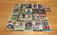 TONY BENNETT LOT OF 21 FOOTBALL CARDS GREEN BAY PACKERS INDY COLTS LB OLE MISS
