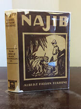 NAJIB By Albert Payson Terhune - 1925, pulp fiction, 1st in dj