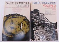 Greek Tragedies Volume 1 & 2: Grene & Lattimore: Aeschylus, Sophocles, Euripides