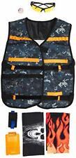 Tacobear Nerf Tactical Vest Kit for Nerf Gun N-strike Elite Series 7 Cool Pieces