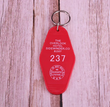 Overlook Hotel Keychain Horror Movie Keyring  Room Keytag The Shining Key Chain