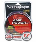 Rockford Fosgate RFK8 8 Gauge OFC Complete Amplifier Wiring Installation Amp Kit