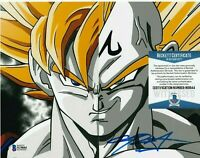 CHRIS SABAT SIGNED VEGETA 8x10 PHOTO DRAGON BALL Z AUTOGRAPH E BECKETT BAS COA
