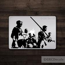 Seven Samurai - Mac Apple Logo Laptop Vinyl Decal Sticker Macbook Japanese Decal