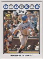 2008 Topps Baseball Los Angeles Dodgers Team Set