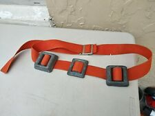 Aqualung Us Divers Scuba Diving Weight Nylon Belt w/ 6.15 lbs Lead Long belt