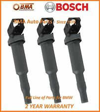 NEW OEM BOSCH BMW E60 E85 E90 SET OF 3 IGNITION COILS 0221504465