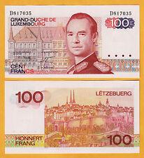 Luxembourg Pre-Euro 100 Francs 1980 Pick-57 Gem UNC