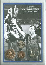 Everton FC (The Toffees) Vintage European Cup Winners Retro Coin Gift Set 1985
