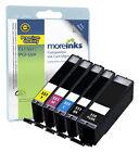 5 Compatible con Canon CLI-551/PGI-550 Cartuchos De Tinta para Pixma Impresoras