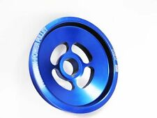 OBX UNDERDRIVE CRANK PULLEY 97-03  Acura TL CL V6 Blue