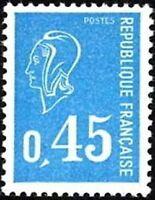 """FRANCE N°1663 """"MARIANNE DE BEQUET 45C"""" NEUF xx TTB"""