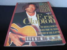 Eric Clapton Guitar Legend Japan Book 1997 Cream Blind Faith Fender Stratocaster