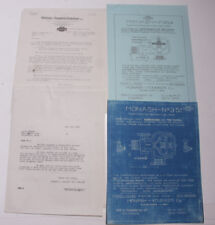 1930 Lamson Goodnow Monash Thermostatic Trap Blueprint Chicago IL Ephemera L409L