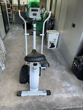 Reebok Exercise Bike Cross Trainer 2 in 1 Cardio Fitness Workout Machine