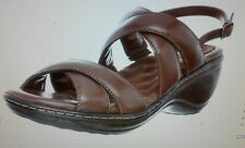 Softwalk Women's Mayberry Slingback Sandal,Cognac,10.5 M US New in Box