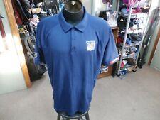 New York Rangers blue Fanatics polo shirt size XL 100% polyester #35756